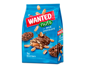 Wanted Nuts Milk Minis Bag